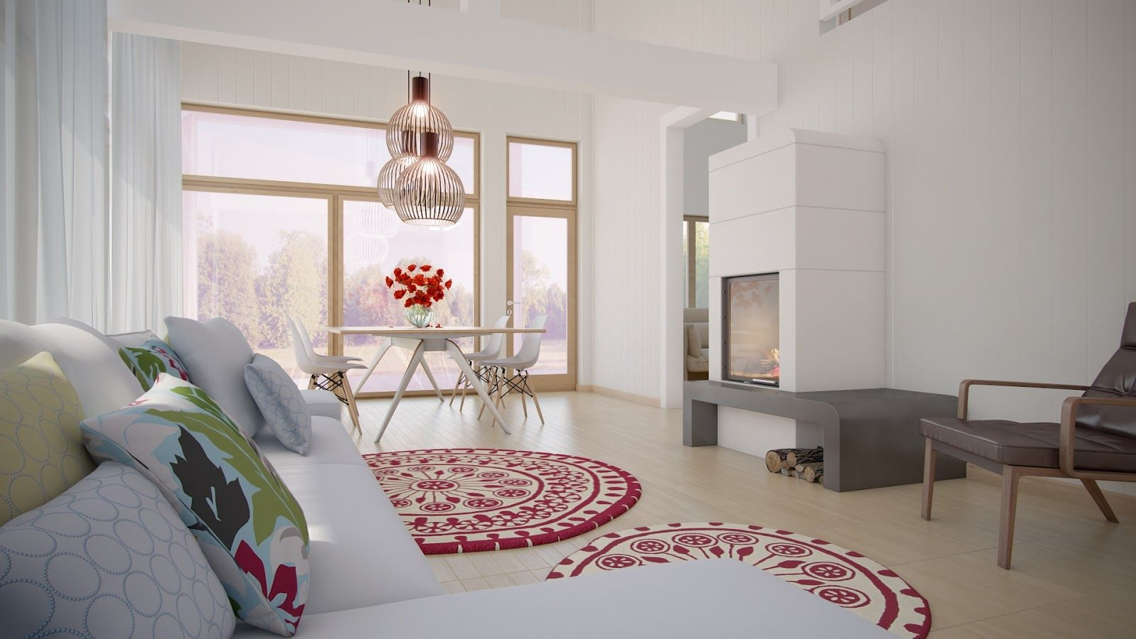 Decoration Ideas For Apartments  Bedrooms  Home Small Living Interesting 2014 Dining Room Colors Decorating Inspiration