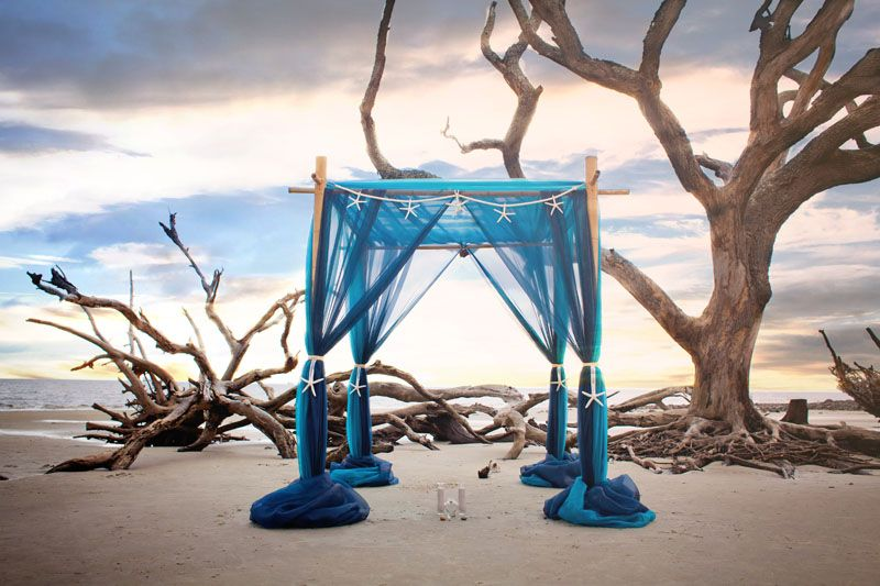 Wedding Arbor And Decorations For Your Upcoming Florida Or Georgia Beach Reception