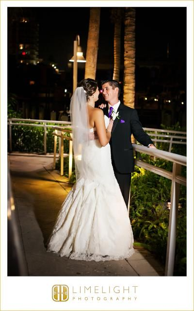 The Bride And Groom Night Session Wedding Photography Hilton Ft
