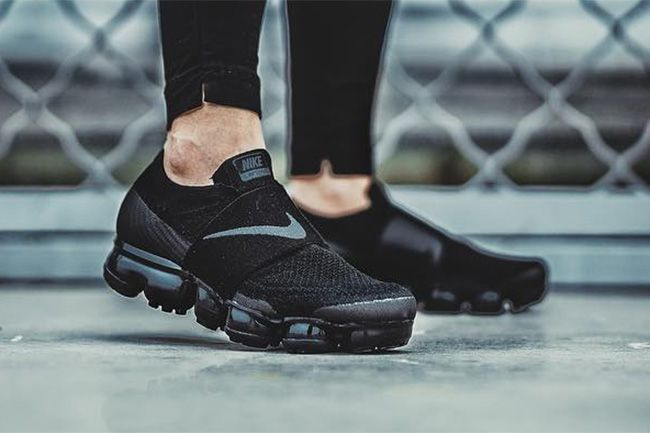 Preview Nike Air Vapormax Laceless Quot Black Quot Shoes