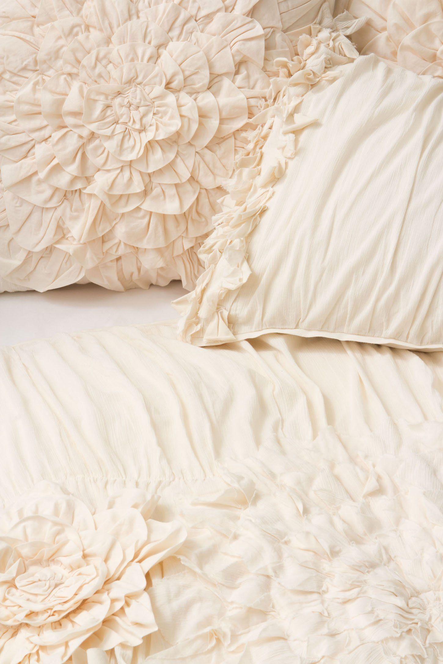 Georgina Duvet Cover Anthropologie Com Romantic Bedding  # Muebles Georgina