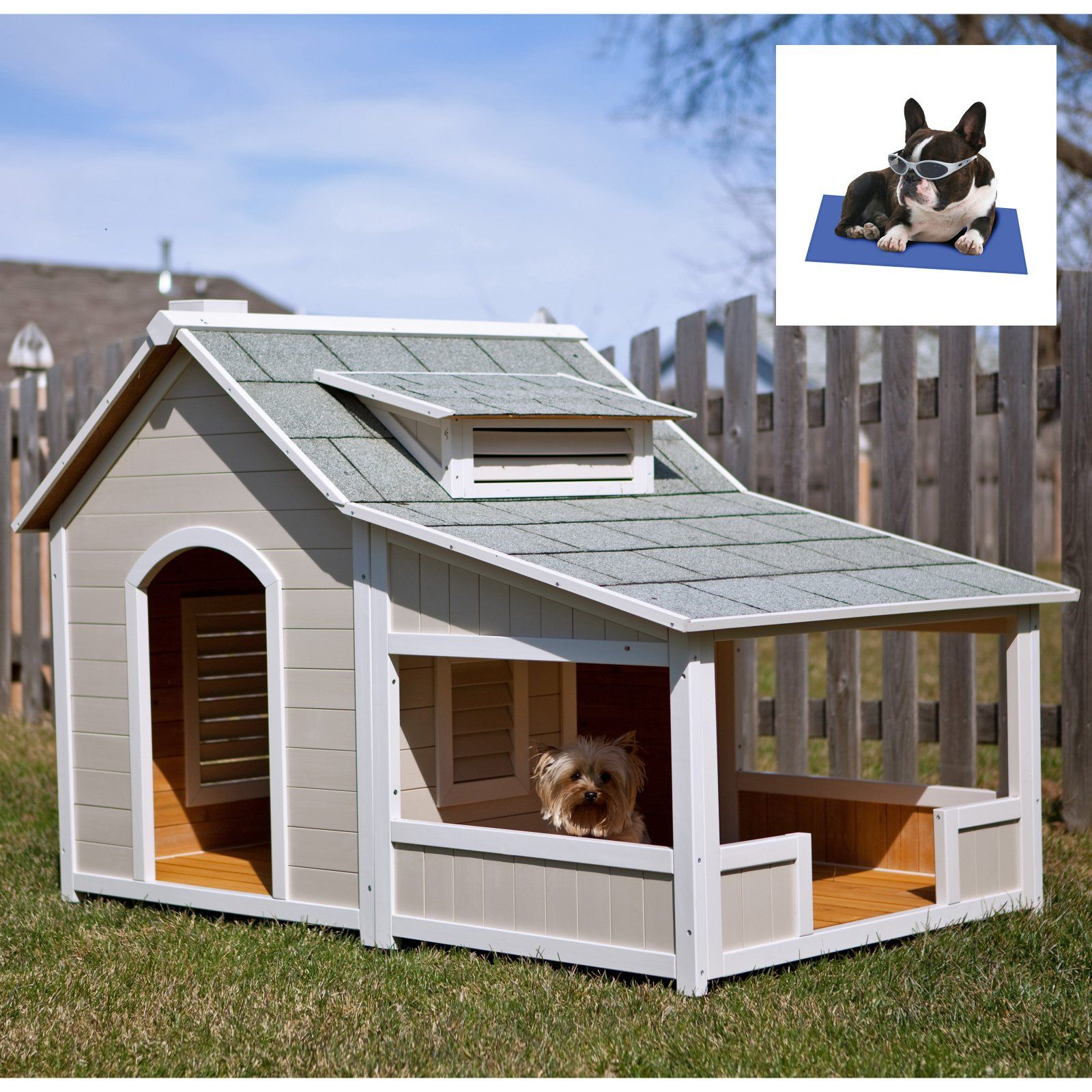Our Favorite Over The Top Dog Houses Dog House With Porch Wood