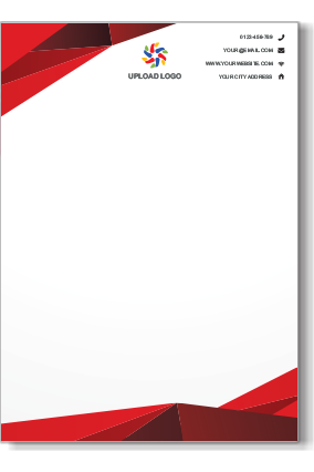 Online letterhead templates forteforic online letterhead templates flashek Images