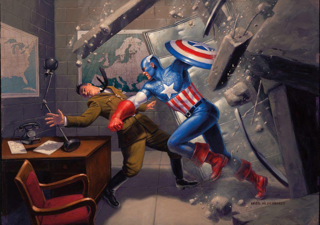 First Look: Captain America: Steve Rogers #1