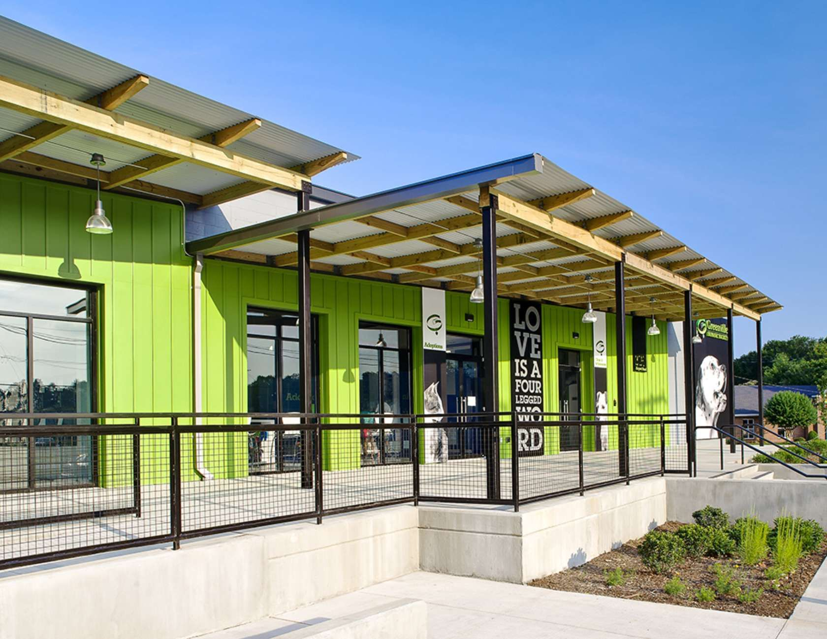 'The Greenville Humane Society engaged our design team for