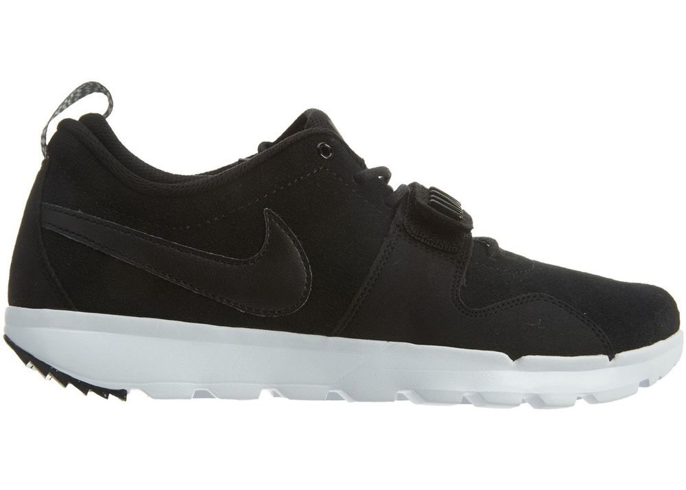 newest 862a0 f4c01 Nike SB Trainerendor L Shoes Mens 9.5 Black White 806309 002  Nike   HikingShoes