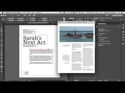 Digital Publishing With InDesign CC: Scrollable Frame