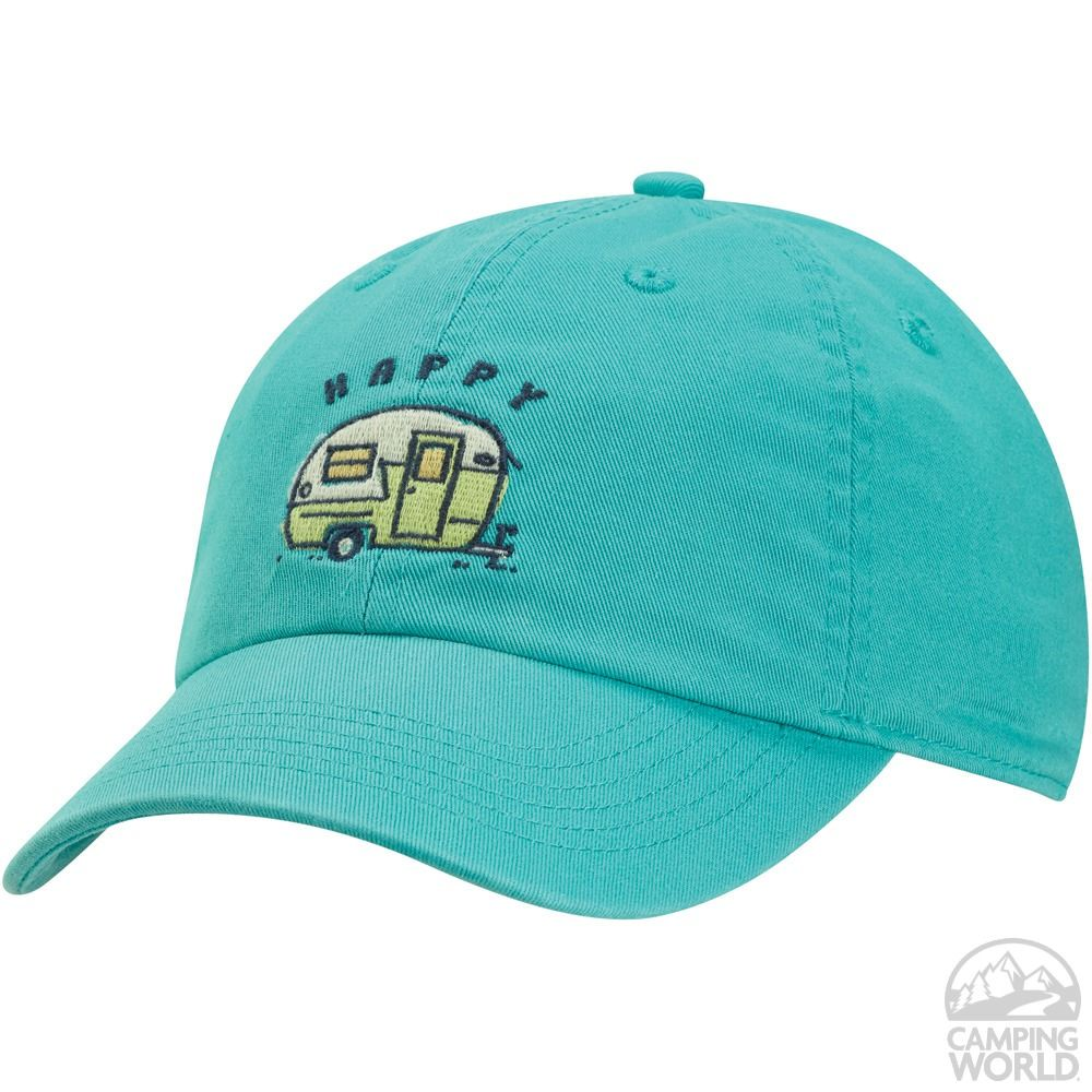 Life Is Good Happy Camper Ladies' Chill Cap - Hats - Camping World