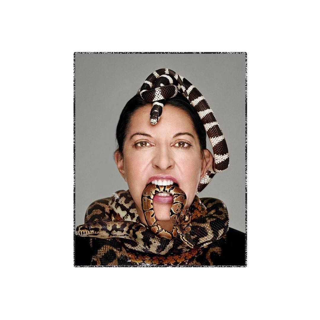 Happy birthday 👑 #queen #70 #telepathyisthenewblack #marinaabramovic