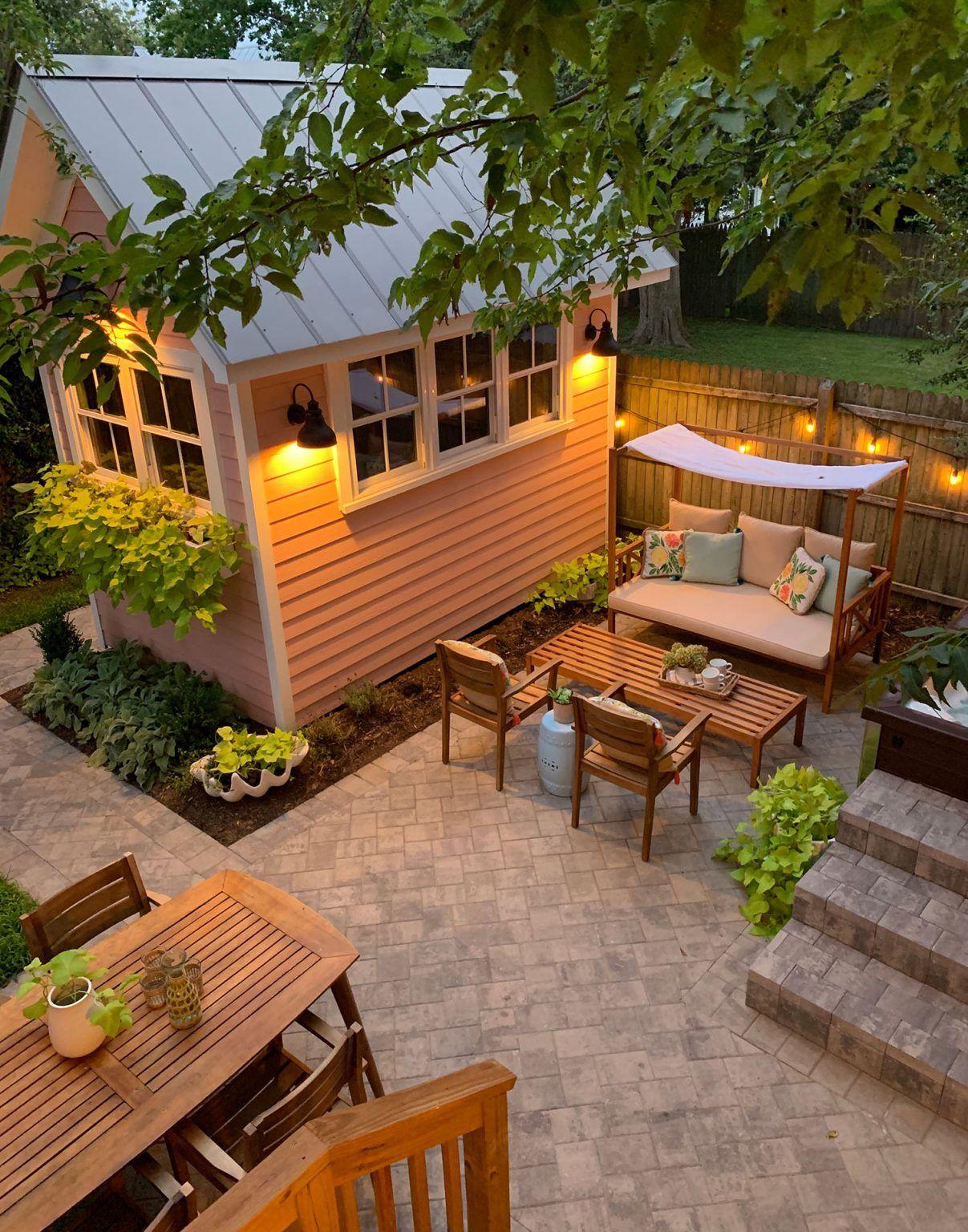 159 Are You A Maximizer Or A Satisficer Young House Love House Backyard Backyard Beach House Backyard Shore house backyard ideas