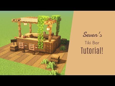 マインクラフト オシャレな酒場 バー の作り方 建築講座 Youtube