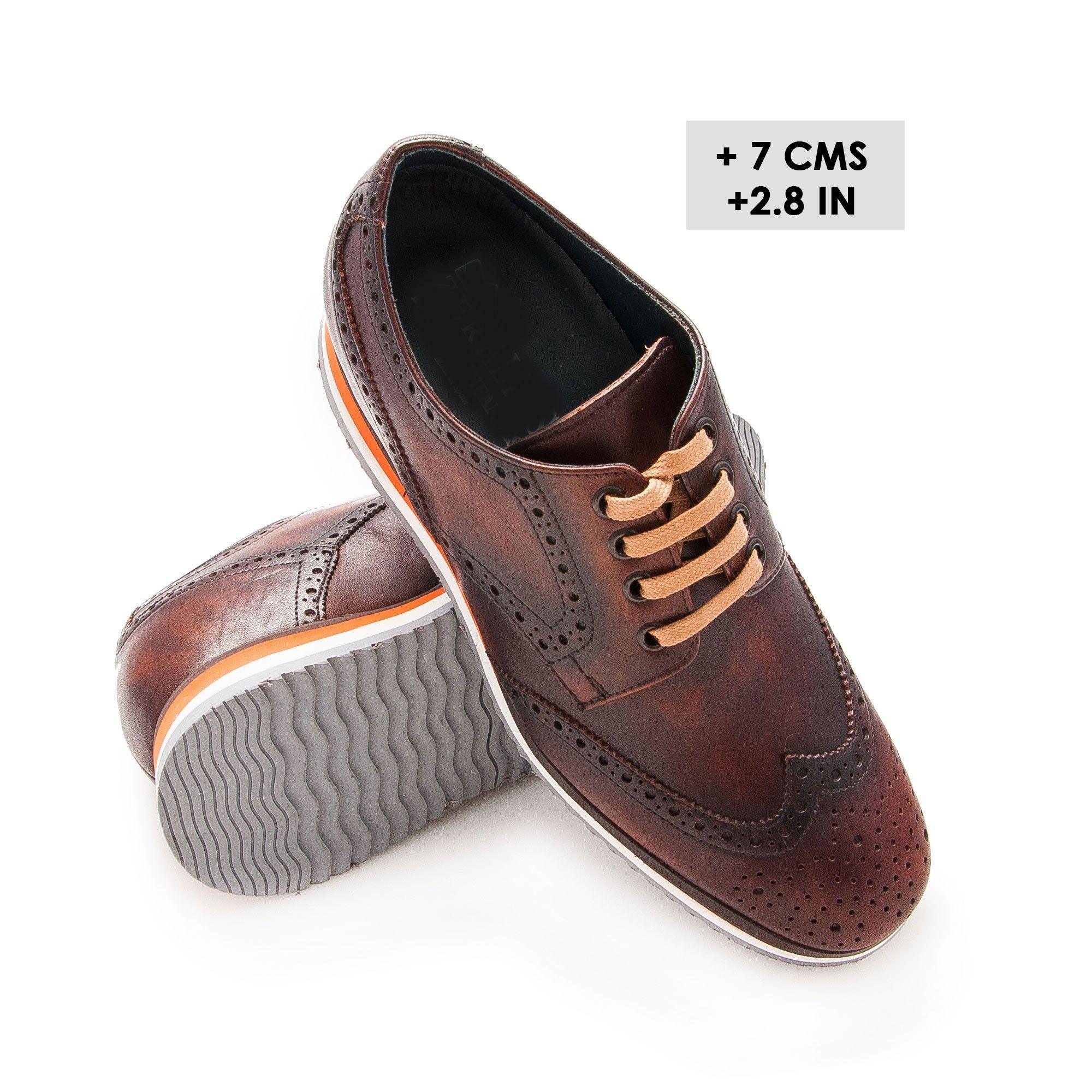 2ee7d11c ZAPATOS CON ALZAS INTERIORES PARA CABALLEROS. +7 cms. | Zapatos con ...