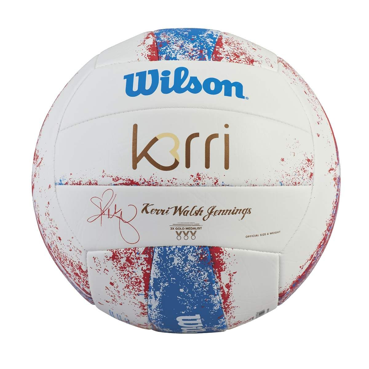 Wilson Kerri Walsh Signature Series Volleyball Wilson Volleyball Kerri Walsh Wilson Volleyball Volleyball