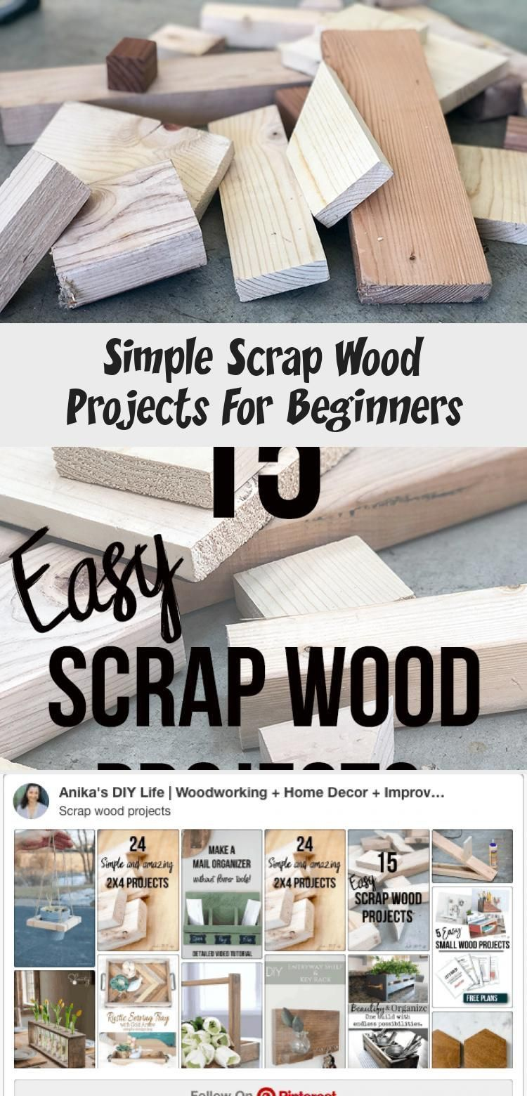 Einfache Altholzprojekte Fur Anfanger Diy Einfache Altholzprojekte Fur Anfanger In 2020 Wood Projects For Beginners Scrap Wood Projects Easy Small Wood Projects