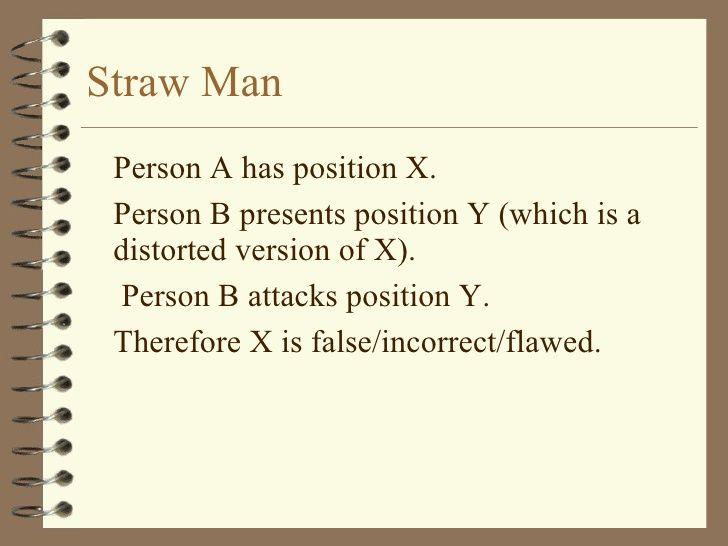 straw man fallacy - Google Search   logical fallacies   Pinterest ...