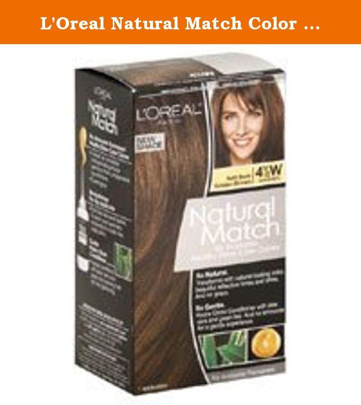 Loreal Natural Match Color Creme Gloss 4 12w Soft Dark Golden