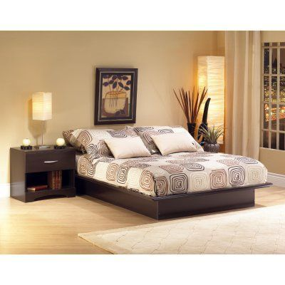 South Shore Canyon Platform Bed Set in 2018 Products Pinterest