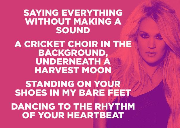 Carrie Underwood Heartbeat Country Music Lyrics Quotes Country Music Lyrics Country Lyrics