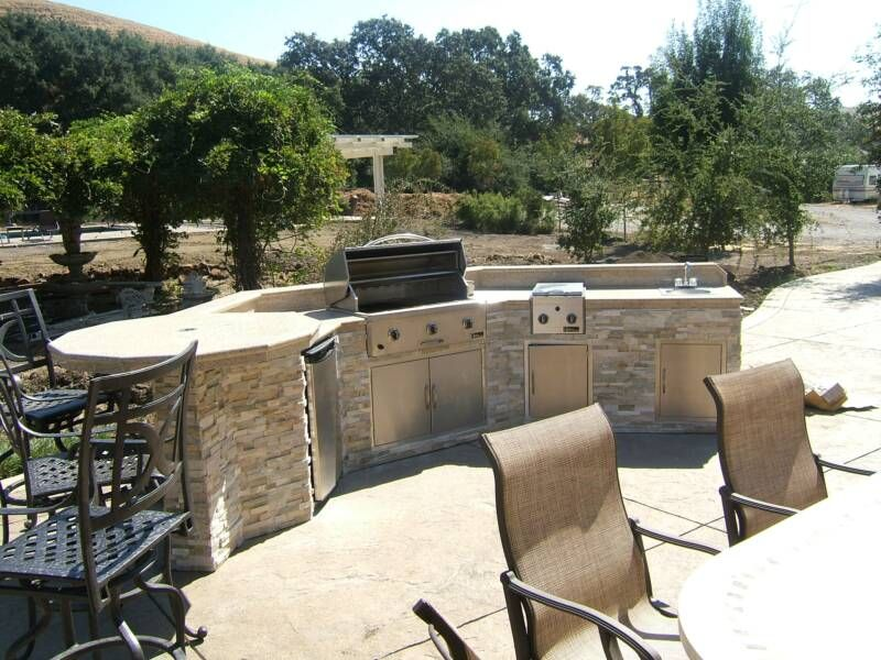 Great Custom Outdoor Kitchens In The Bay Area