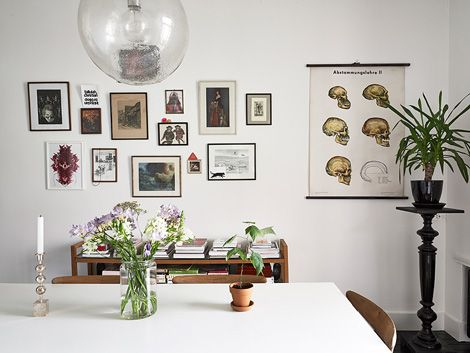 Zwart Wit Appartement : Binnenkijken in een zwart wit appartement mi casa pinterest