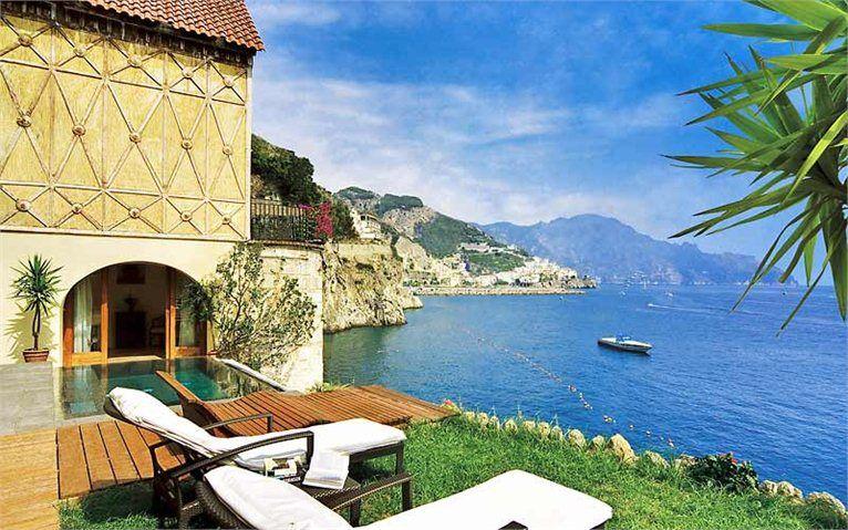 suite cinque stelle con piscina ad Amalfi, Salerno, 2008 - Umberto Maria Cioffi