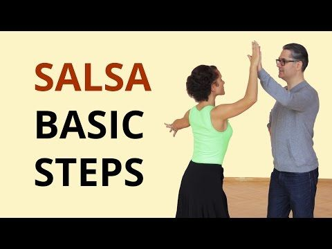 Learn to Dance Salsa Basic for Beginners - YouTube   Learn salsa. Salsa dancing. Salsa dance lessons