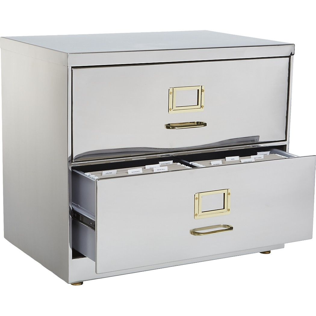 huge discount b2e5f 45667 Shop stainless steel file cabinet. File away the notion that ...