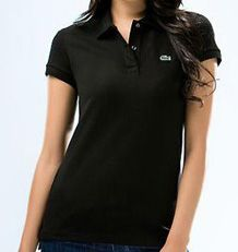Lacoste Black Polo... This is one of my favorite shirts in my closet. So simple and classic. -Alexis