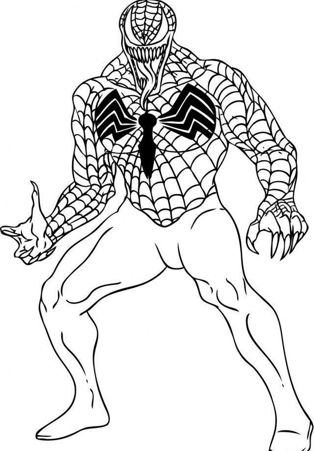 Spider Man Coloring Pages Venom Lego Spiderman Coloring Pages