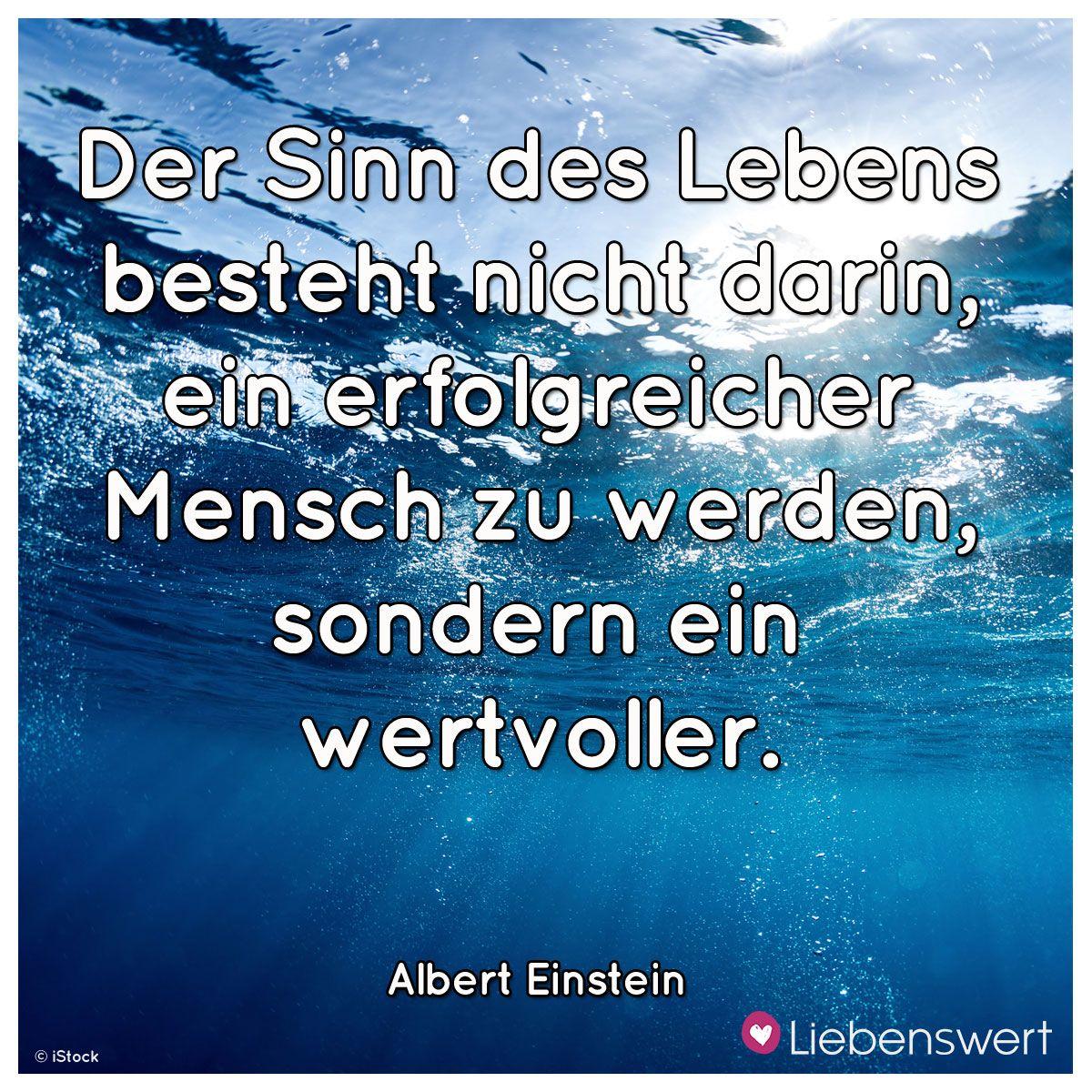 Inspirierende Spruche Uber Das Leben Einstein Zitate Spruche Einstein Sinn Des Lebens Zitate