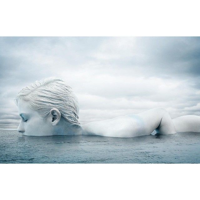 Arctic Beauty for Marie Claire (cn). #iceberg #glacier by michaelandviktorija