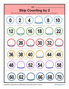 Free Skip Counting Mazes for children learning to count by 2&#39s ...