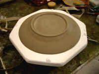 slip casting a plate | Ceramics | It cast, Ceramic pottery, Ceramic