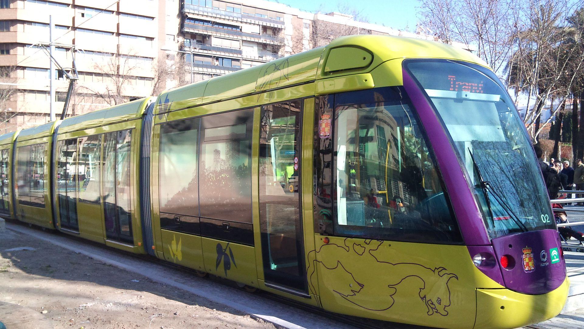 El tranvía de Jaén, un capricho muy caro