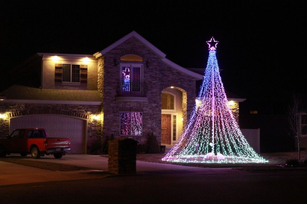 Top 10 Outdoor Christmas Light Ideas For 2018 Christmas Is Considered One Of The Outdoor Christmas Lights Outdoor Christmas Decorating With Christmas Lights