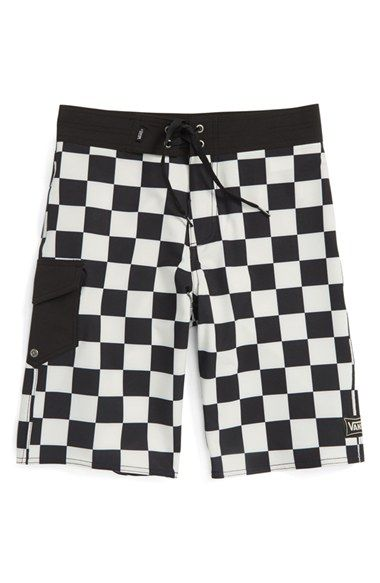 a1ce0faf98 Vans 'Ampster' Board Shorts (Big Boys) | kid clothes | Boys swim ...