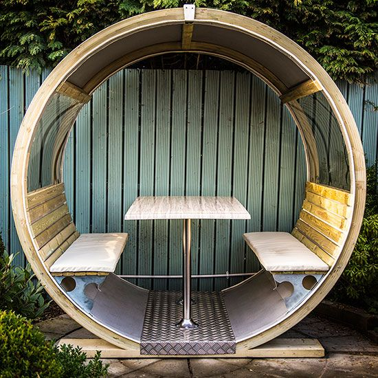 Garden pods discover the allnew outdoor home office is part of garden Seating Pod - The garden pod is here in all its curvaceous glory  Forget your ship lap sheshed