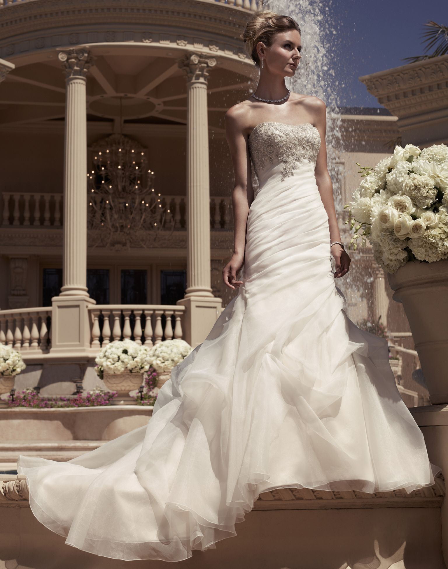 Casablanca Bridal Style 2107 Now available at Bridal Exclusives ...