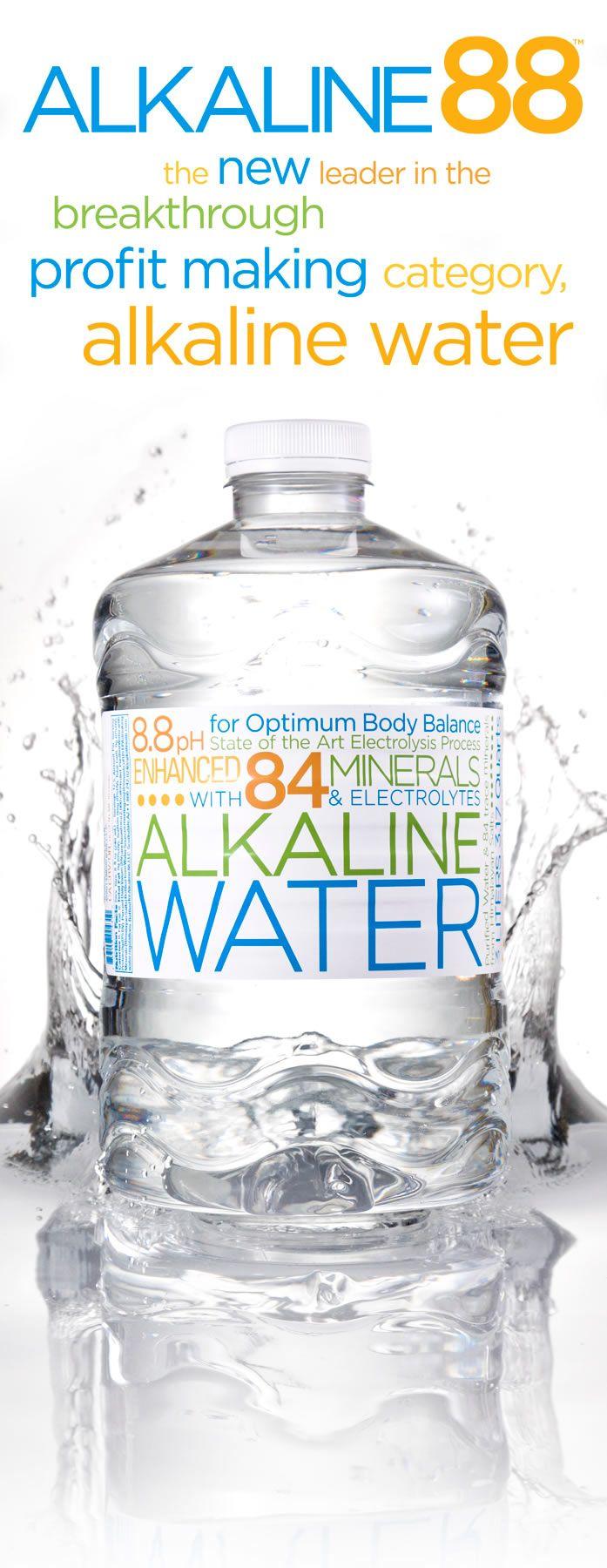 Alkaline Water Is The Healthiest Water Alkaline Water Healthy Water Alkaline