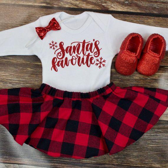 Buffalo Plaid Head Band Head Wrap Hair Baby Toddler Red Black Christmas Dress