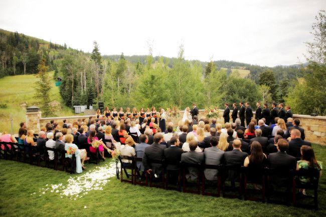 Summer Wedding At The St Regis Deer Valley Utah