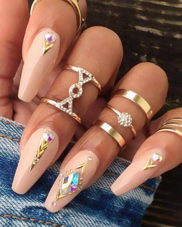 Gold Boho Rings | Boho Chic Rings | Boho Midi Rings | Vintage boho rings
