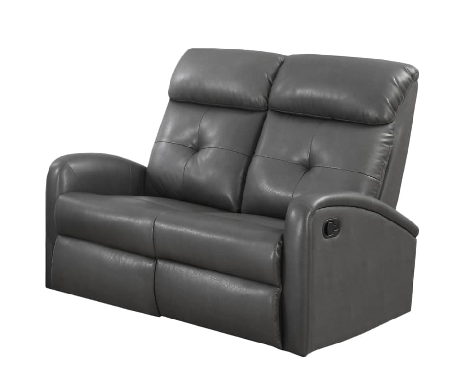 Monarch Specialties I 88 2 50 Inch Wide Metal Framed Leather