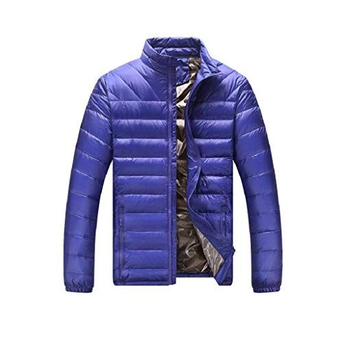 competitive price 062b4 e6de2 Lannister Fashion Herren Ultraleicht Daunenjacke Stopfbar ...