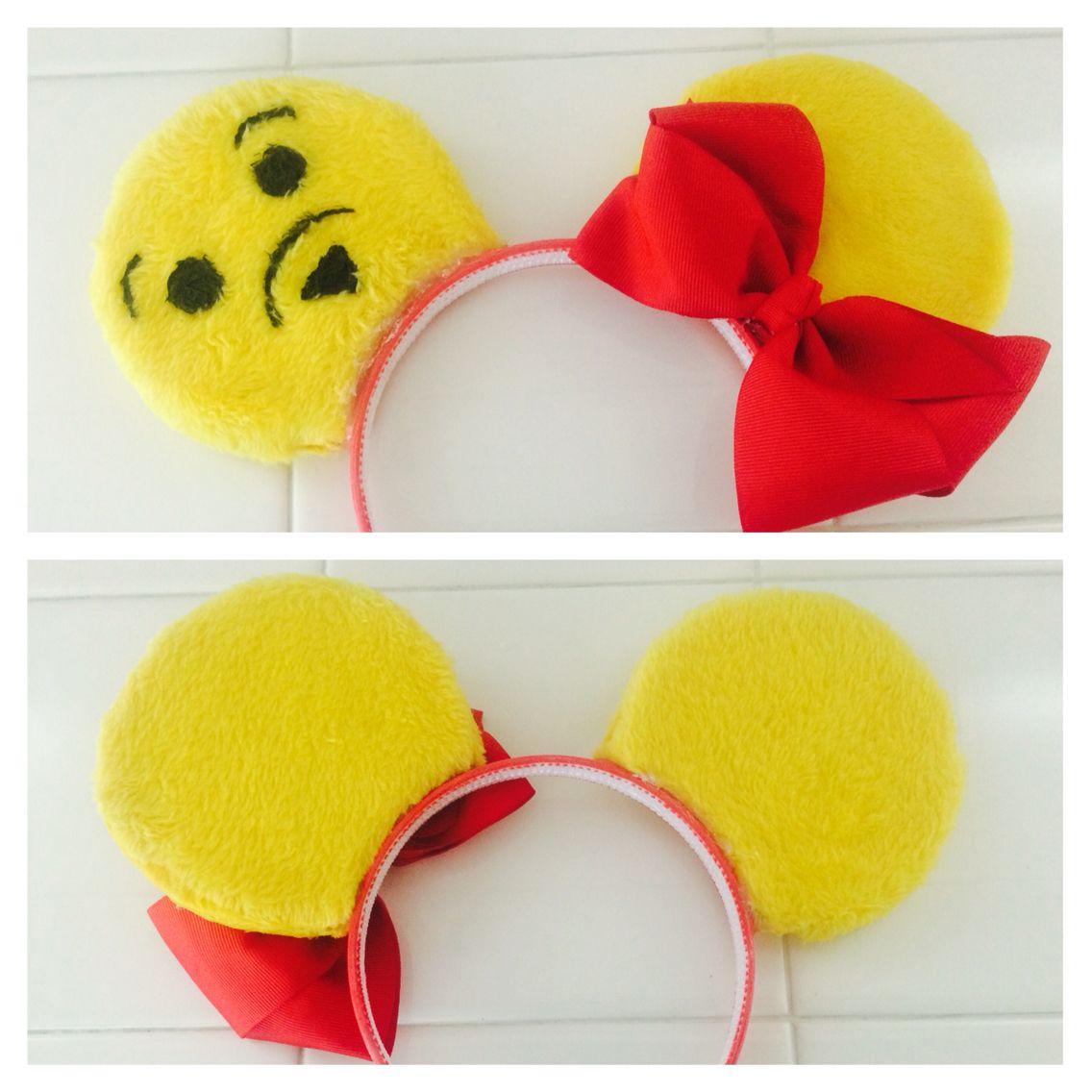 Original Pooh Bear DIY Mickey ears design  6e45f6a39