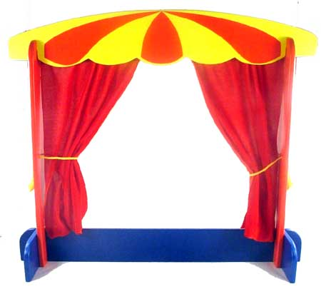 How To Make A Puppet Show Curtains