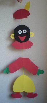 Sinterklaas knutselen - Sinterklaasfeest bij Pinkelotje - #zwartepietknutselen