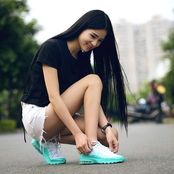 4d42e37cd9 2018 How To Buy Nike Air Max Invigor Girls White Hyper Jade Green Mint On  Feet