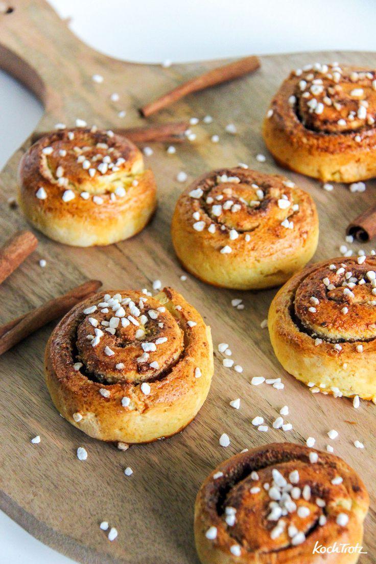 Schnelle glutenfreie Zimtschnecken - KochTrotz | kreative Rezepte #cinnamonsugarcookies