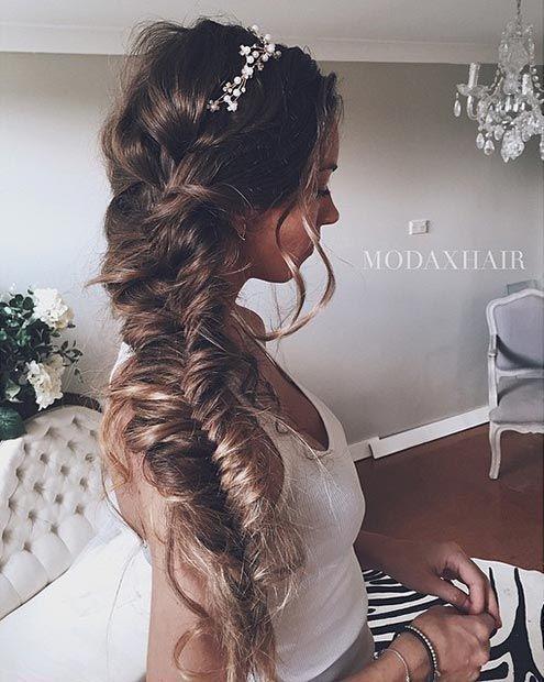 Idées Coupe cheveux Pour Femme 2017 / 2018 28 coiffures de mariage à la  mode pour